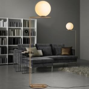 Gegalvaniseerde glazen bal vloer lamp indoor Home Decoratie licht