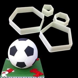 2 PCS Cake Mold Fondant Mold Football Shape Cake Decorating Tools