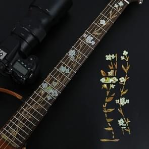 Flowers and Plants Electric Guitar Fingerboard Stickers Guitar Accessories