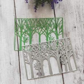 Box Tree Cutting Knife Die Cutting Book Album Greeting Card Embossing Template
