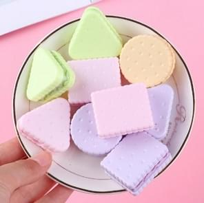 Cute Kawaii Plastic Cookie Sharpener Creative Stationery Kids School Supplies, Random Color