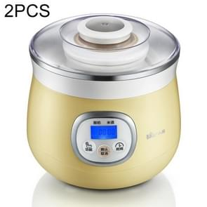 2 PCS Household Automatic Frozen Yogurt Maker Ceramic Liner Natto Rice Wine Maker