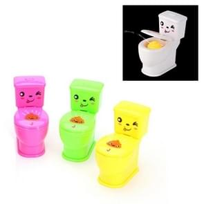 3 PCS Mini Spray Water Jet Toilet Children Creative Whole Toy Spoof Small Toys(Random Color Delivery)
