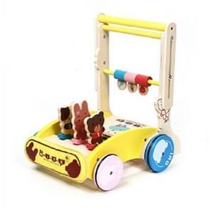 Baby Walker auto multi-functie met muziek vouwen rollover 7-18 maanden Kinder wandelaar (gewoon)