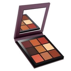 Miaool Matte Shimmer Eye Shadow Palette Long-lasting Waterproof  Eyeshadow Palette Makeup Cosmetics(Autumn)