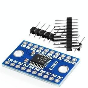 TXS0108E 8-bits bidirectionele voltage converter-bordmodule