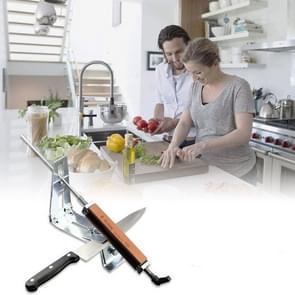 Kitchen Professional Sharpener Oil Stone Whetstone Kitchen Supplies(Silver)