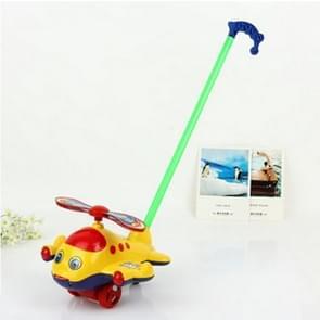 Child Trumpet  Hand Push Bell Airplane Toy Baby Walker