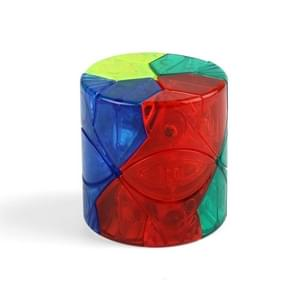 Derde-orde gevormde en gladde puzzel kubus Kinder puzzel decompressie speelgoed  kleur: transparante kleur