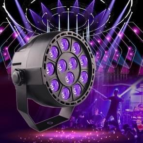 LED Purple Light Parlight Stage Laser Light  Plug Specifications:EU Plug(12 Purple Light Par Lights)