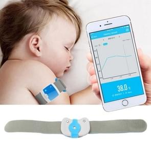 Children Fever Monitor Smart Medical Thermometer Bluetooth 4.0 Wireless Wearable Electronic Body Infant Temperature Monitoring
