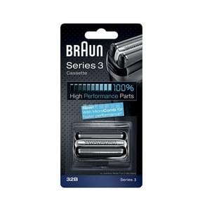 Foil Cutter Replacement Shaver Blade Head Cassette Trimmer Head for Braun Series 3(32B)