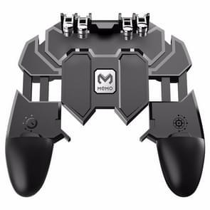 MeMo AK66 Six Fingers Metal Trigger Press Shooting Controller Gamepad Joystick