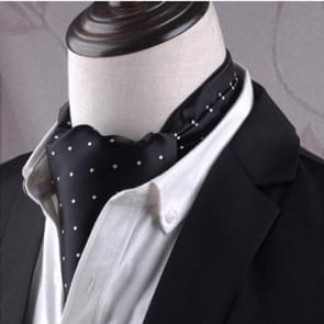 Gentleman's Style Polyester Jacquard Men's Trendy Scarf Fashion Dress Suit Shirt British Style Scarf(L247)