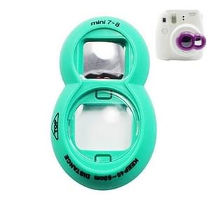 2PCS Selfie Mirror voor Polaroid Mini7s / Mini8 (Groen)
