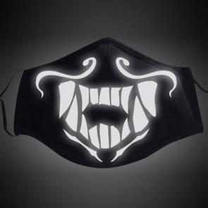 Akali Mask Game Anime Peripheral Luminous Mask(Reflective)
