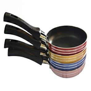 Mini Aluminum Portable Non-stick Frying Pan Breakfast Cooking Kitchen Cooker Random Color Delivery