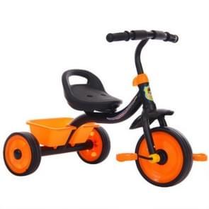 Kinderen drie wiel Balance fiets scooter draagbare fiets geen voetpedaal fiets baby Walker auto (zwart)