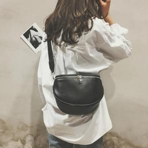 3 PCS Fashion Pure Color Women Leather Shell Messenger Shoulder Bag Bust Bag Crossbody Bag Money