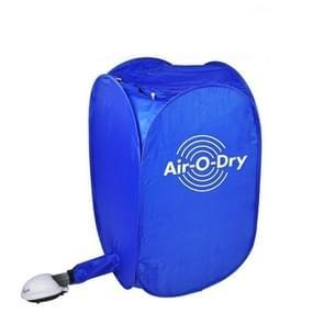 Opvouwbare gratis installatie draagbare huishoudelijke mini-kledingdroger (blauw)
