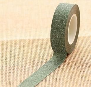 Flash Washi Sticky Paper Tape Label DIY Decorative Tape, Length: 10m( Jasper)