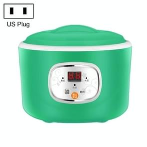 Kitchen Intelligent Timing Power Off Yogurt Machine Fully Automatic Rice Wine Natto Machine Cupping Microcomputer Fermentation Machine(Green)