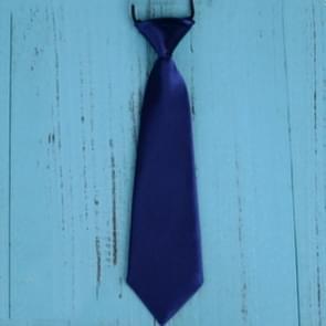 10 stuks effen kleur casual rubber band lui gelijkspel voor kinderen (lichte Marine)