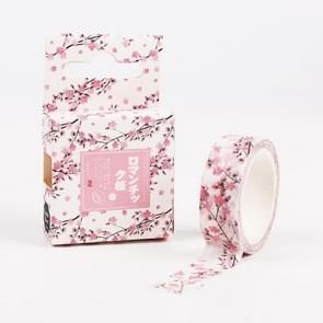 Cherry Blossom DIY Hand Towel Tear Tape Decorative Hand Book Album Decoration
