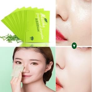 G3G99V Green Tea Moisturizing Cleansing Oil Absorbing Paper Face Cleaning Tool