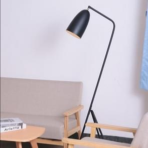 E27 5W Modern Iron Painted LED Adjustable Floor Lamp  for Living Room, Bedside, Study Room, Hotel Room White Light(Black)