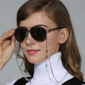 Decorative Beads Sunglasses Fashionable Glasses Neck Strap Eyeglass Chains for Lady