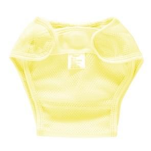 Zomer slim ademend waterdicht verstelbare baby mesh doek luier  grootte: S (Geel)