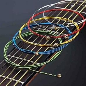 6 in 1 Multicolor E-A Guitar Strings