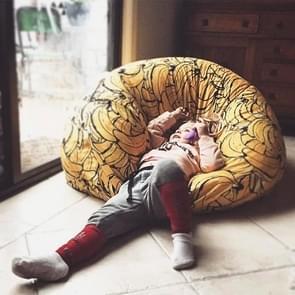 Super comfortabele banaan patroon Zitzak luie Bank voor volwassene of kind