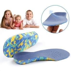 One Pair Children Flat Feet Arch Support Insoles Orthopedic Shoe Insole, Size:29-31cm