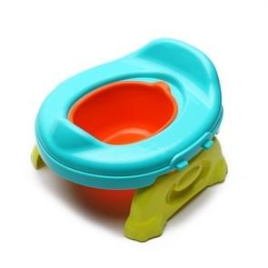 Children Portable Mini Toilet Bedpan Travel Potty With Removable Bowl(Blue)