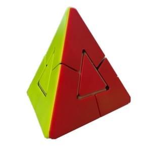 Shaped Triangle Tetrahedron Rubik Cube Educational Toys(Color)