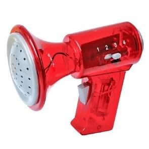 Kinderen houden Megaphones multi-frequentie veranderende hoorns varkens grappige megaphone speelgoed  kleur: rood vier-Speed verandering