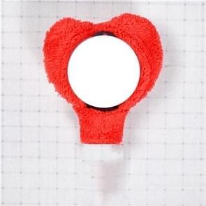 2 stuks Animal lamp dekking van de steun Shades schattig pluche hand lamp geval (hart vorm)