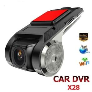 Anytek X28 mini auto DVR Camera Full HD 1080P auto digitale video recorder DVRs ADAS camcorder G-sensor Dash cam WiFi GPS Dashcam