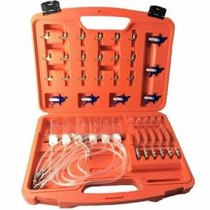Diesel Injector Nozzle Tester Fuel Flow Meter Common Rail Adapter Fuel Line Diagnostic Tool Set