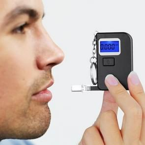 Portable Alcohol Tester Keychain Mini Breath Alcohol Meter