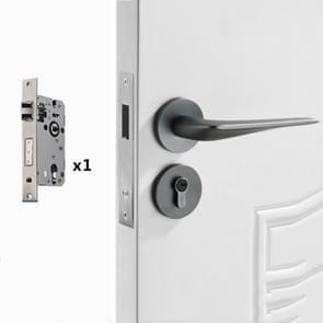 Magnetisch slot Mute Split Lock Solid Space Aluminium Binnendeurslot  Stijl:Met Mute 72 Lock Body(Grijs)
