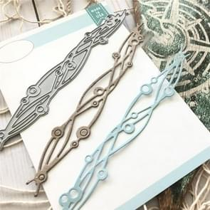 Wave Lace Knife Mold DIY Cutting Book Album Greeting Card Making Mold