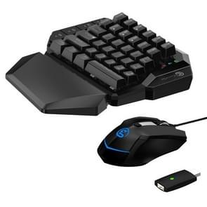 Gamesir VX Wireless Bluetooth-toetsenbord en muisconverter is geschikt voor PS3 / Xbox / PS4/Switch