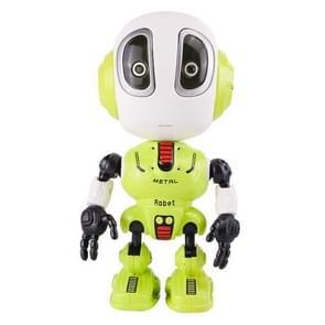 Simulation Robot Alloy Toy Model Children Birthday Gift(Green)