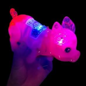Cute LED Luminous Music Electronic Pet Children Educational Toys  Random Color