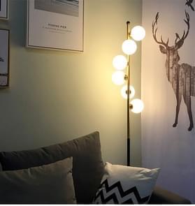 Creatieve glazen bal eenvoudige vloer lamp woonkamer slaapkamer Home decoratie verlichting (warm wit)
