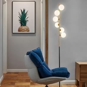 Creatieve glazen bal eenvoudige vloer lamp woonkamer slaapkamer Home decoratie verlichting (wit licht)