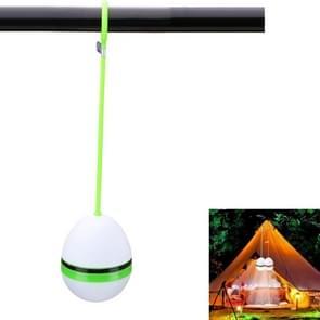 2 stuks LED draagbare lantaarn camping licht siliconen Lanyard opknoping tent lamp (groen)